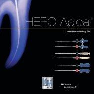 HERO Apical® The efficient finishing files - Micro Mega
