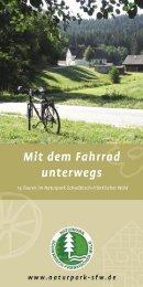 Mit dem Fahrrad unterwegs - Naturpark Schwäbisch Fränkischer Wald