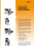 VENTILATEURS CENTRIFUGES BASSE PRESSION - Sodeca - Page 3