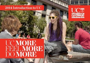 View or download an overview of studying at UC (PDF(1.9MB)