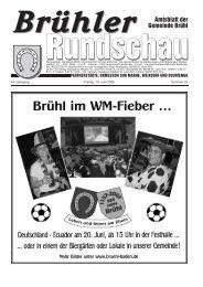 Amtsblatt KW24 2006 - Gemeinde Brühl