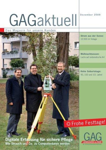 lichen Glückwunsch! - GAG Ludwigshafen