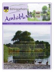 Amtsblatt vom 28.06.2012 (KW 26) - Gemeinde Böhl-Iggelheim