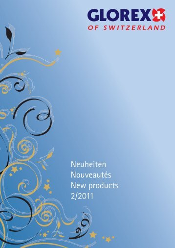 Neuheiten Nouveautés New products 2/2011 - Glorex
