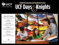 2009-2010 - The SDES Archive - University of Central Florida