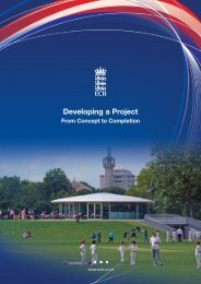 Developing a Project – From Concept to Completion - Ecb - England ...