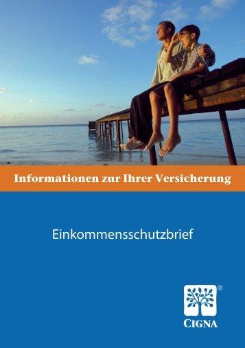Allgemeine Versicherungsbedingungen Einkommensschutzbrief