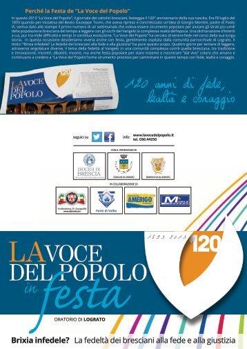 LAVOCE DEL POPOLO - Diocesi di Brescia