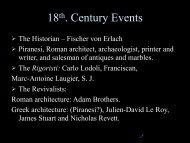 18c events I