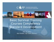 Basic Survival Training Courses Competency Courses Competency ...