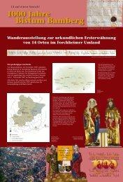 Wanderausstellung 14 auf einen Streich - Tausend Jahre Bistum