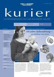 Kurier Nr. 84 - Juli 2008 - Hochdorf Nutritec AG