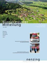 Jugendraum Walgau - Marktgemeinde Nenzing