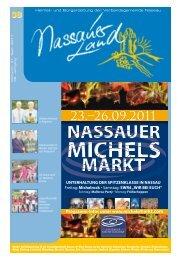 Mitteilungsblatt Ausgabe 38 - 2011 - Verbandsgemeinde Nassau