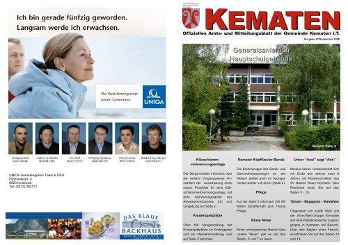 frau sucht mann in Kematen in Tirol - Bekanntschaften