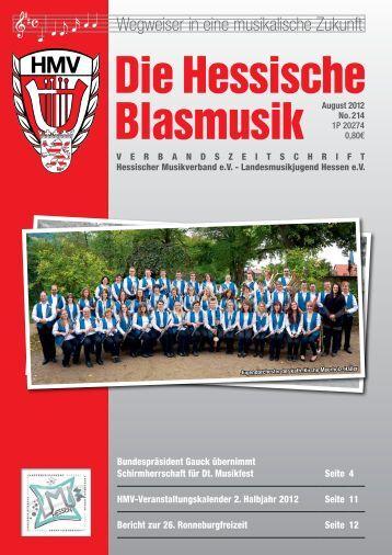 neue Idee als voller Erfolg Musik war - Hessischer Musikverband
