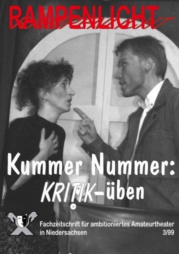 9 rampenlicht 3/99 rampenlicht 3/99 - Amateurtheaterverband ...