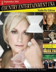 2011 Septembert Issue - Country Entertainment USA