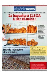 Fr-18-06-2013 - Algérie news quotidien national d'information
