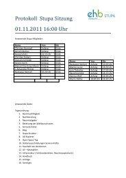Protokoll Stupa Sitzung 01.11.2011 16:00 Uhr - KeinDrama