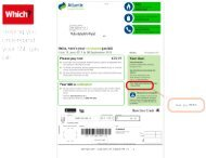 SSE Gas bill and statement - Which.co.uk
