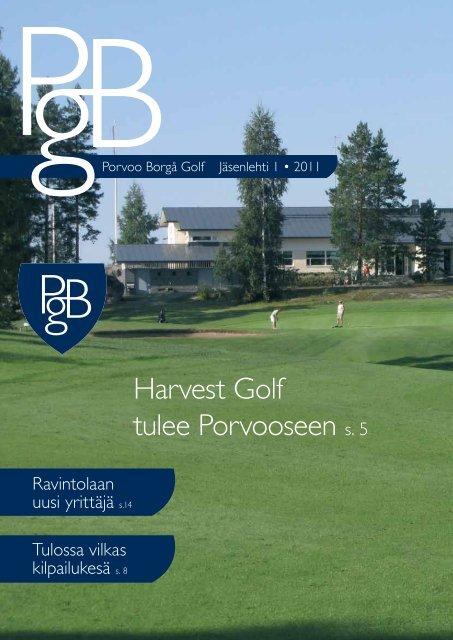 Harvest Golf tulee Porvooseen s. 5