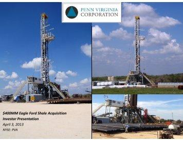 locations - Penn Virginia Corporation
