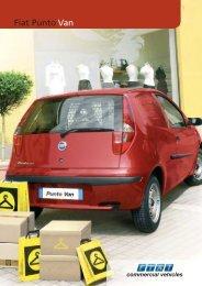 Fiat Punto Van - Walton Summit