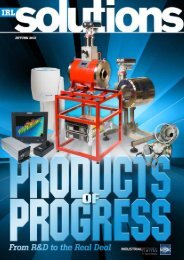 IRL Solutions - Autumn 2012 - Industrial Research Limited
