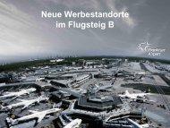 Star Package im Flugsteig B - Media Frankfurt