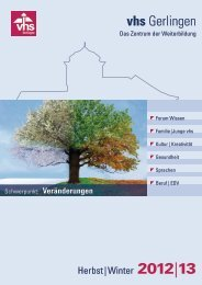 Download: VHS-Programm Herbst/Winter 2012-2013 - vhs Gerlingen