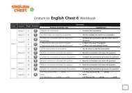 Erratum to: English Chest 6 Workbook