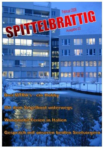 """""""Spittelbrattig"""" Nr. 22, Februar 2008 - Kantonsspital Uri"""
