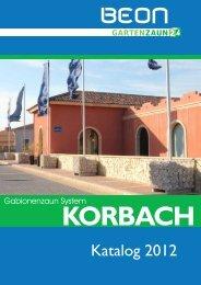 Katalog Serie Korbach - Gartenzaun24