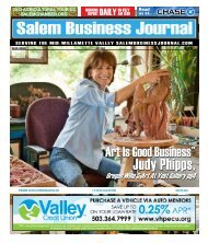 Jul 2012 - Salem Business Journal