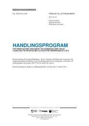 Handlingsprogram för förebyggande verksamhet ... - Uppsala kommun