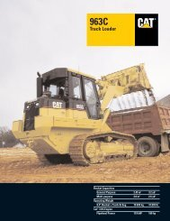 Specalog for 963C Track Loader AEHQ5287 - Kelly Tractor