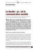 Vous avez dit « communication sensible » ? - Magazine de la ... - Page 2