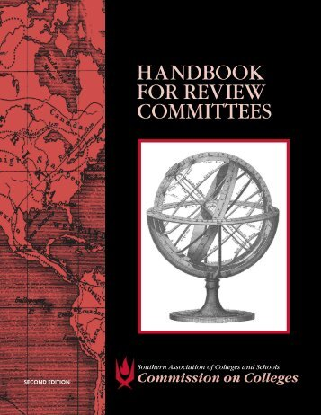 SACS Handbook for Review Committees-QEP section