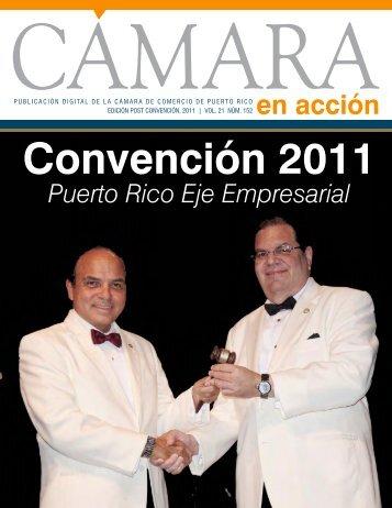 Edición Post Convención, 2011 - Cámara de Comercio de Puerto Rico