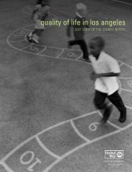 quality of life in los angeles - United Way of Greater Los Angeles