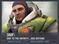 EMF TO THE INFINITY... AND BEYOND - EclipseCon