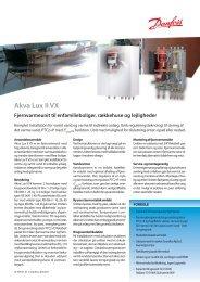 Akva Lux II VX - Danfoss Redan A/S