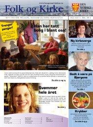 Svømmer hele året Han har tatt bolig i blant oss! - Haugesund Kirke