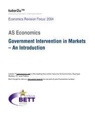 AS Economics - FreeExamPapers