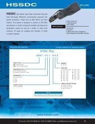 HSSDC Plug www.hssdc.com - Amphenol Canada