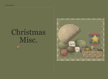 Christmas Miscellaneous - Priscilla's Crochet