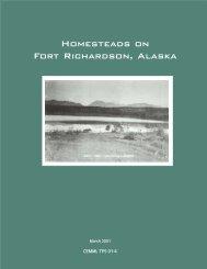 Homesteads on Fort Richardson, Alaska - The USARAK Home Page ...
