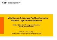 Präsentation Luzia Truniger - KFH