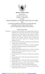 BUPATI ACEH UTARA - Mahkamah Konstitusi RI